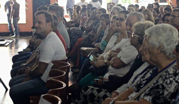 O lançamento do Projeto em Mogi Mirim contou com a presenta de