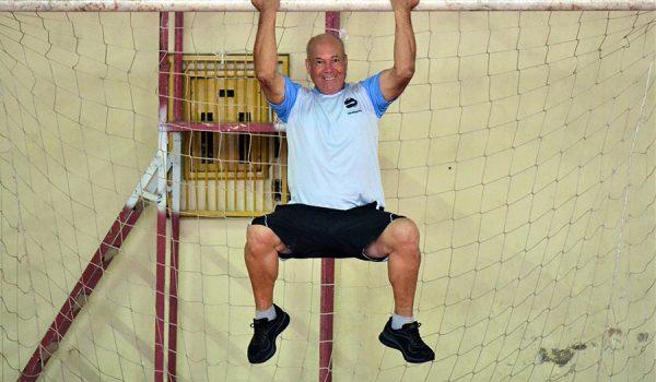 Atividade física resgata vigor e serve de motivação para aposentado
